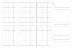 Thumbnail sketchboard