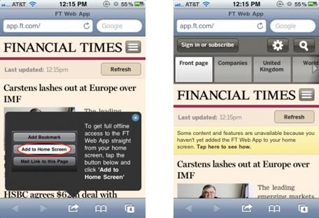 Financial Times app
