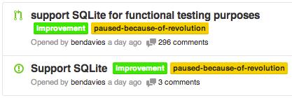 Support SQLite