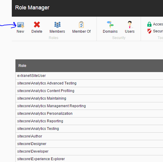Confirming members screenshot