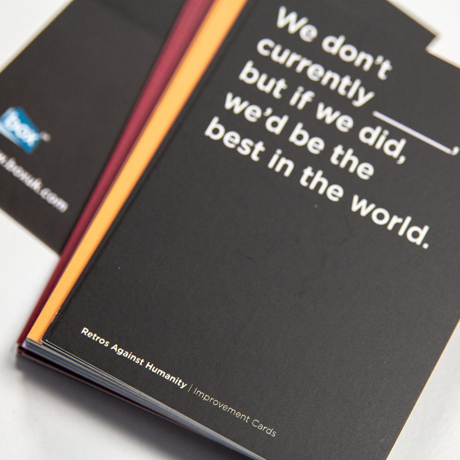 Agile Fun Games retros against humanity   insight   box uk