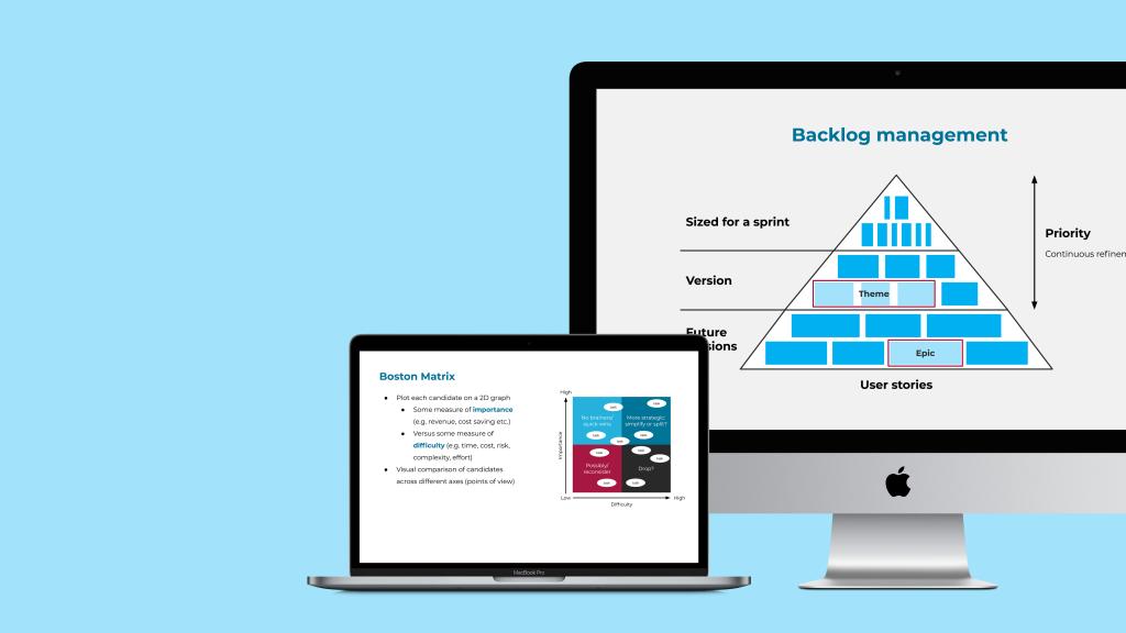 Example Agile coaching slides