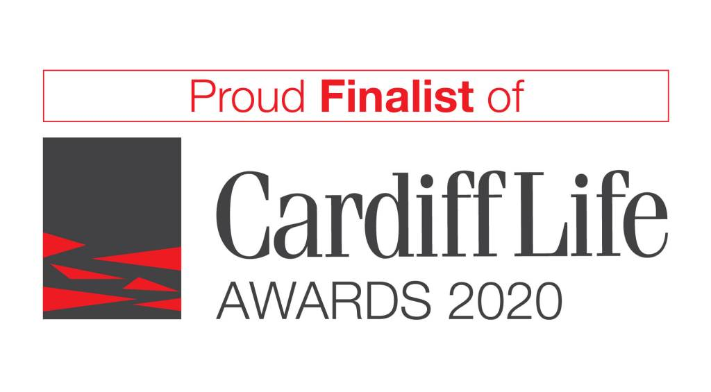 Proud Finalist of Cardiff Life Awards 2020