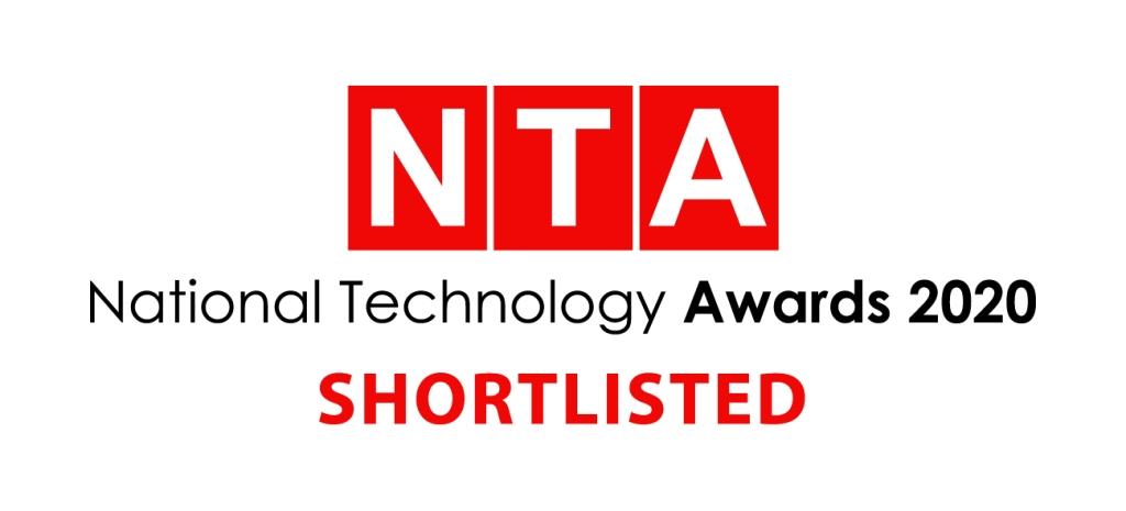 NTA National Technology Awards 2020 Shortlisted