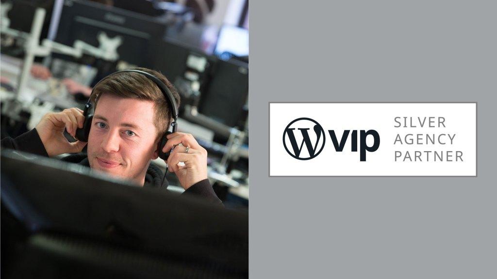 WordPress VIP Silver Agency Partner logo and Box UK developer
