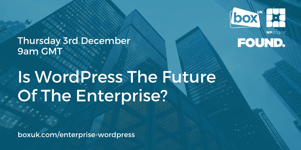 Is WordPress The Future Of The Enterprise?