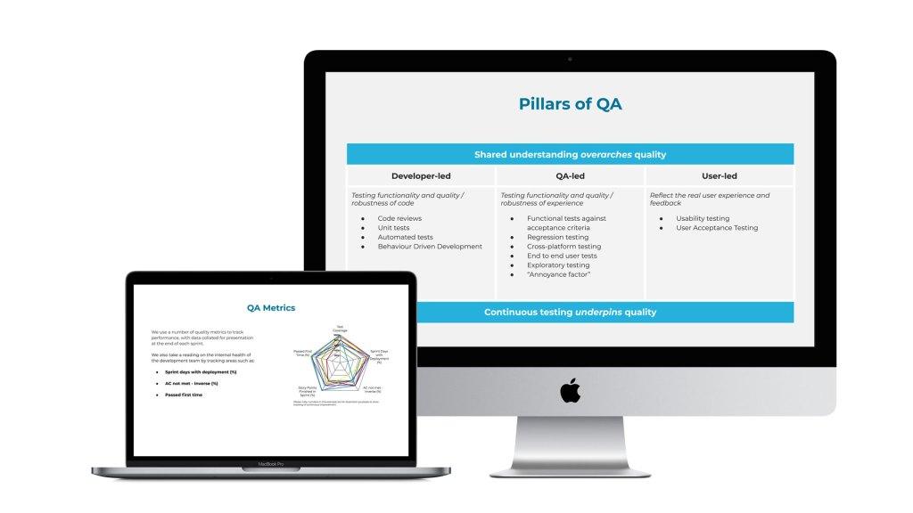 QA metrics and Pillars of QA