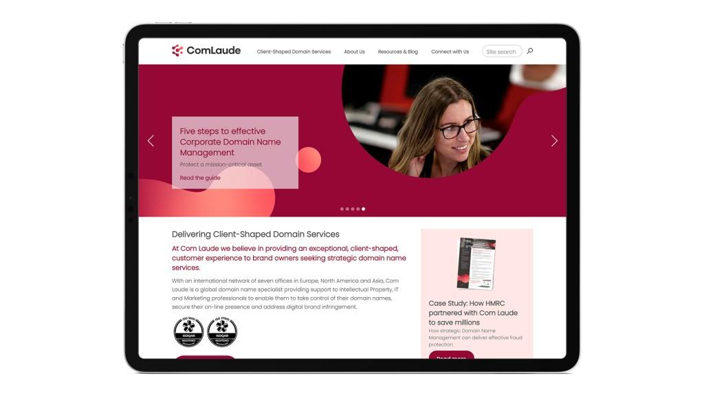 Com Laude website